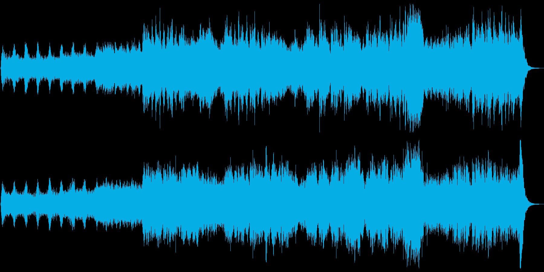 『 ワルキューレの 騎行 』冒頭の再生済みの波形