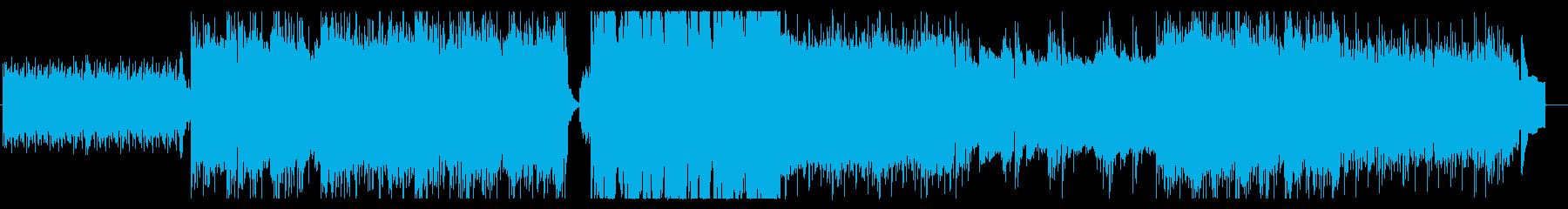 桜雨:二胡/琴/ピアノ/シンセの和風曲の再生済みの波形