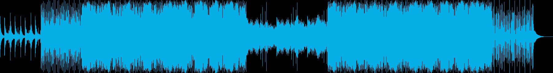 bpm120 暖かな男性ボーカルEDMの再生済みの波形