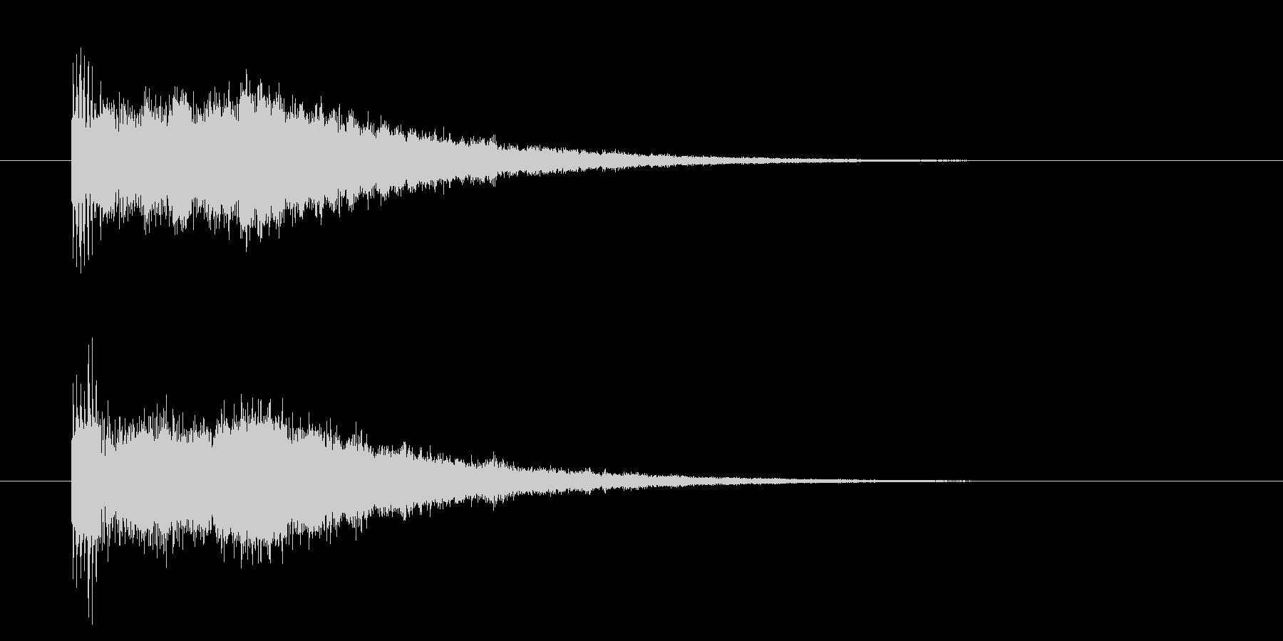 レベルアップ/能力値UP/成長/キラキラの未再生の波形