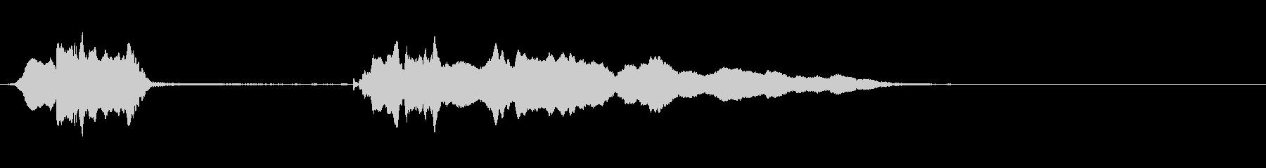 バイオリン:狼ののアクセント、漫画...の未再生の波形