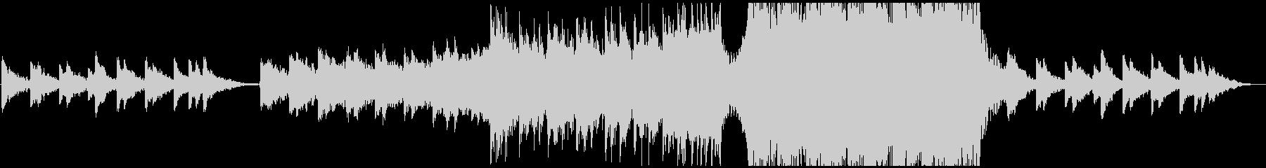 【CM,VP】感動的なピアノオーケストラの未再生の波形