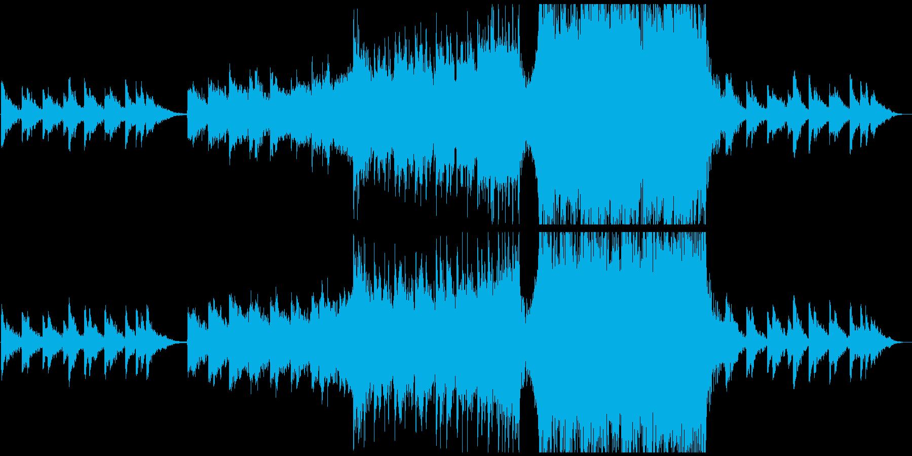 【CM,VP】感動的なピアノオーケストラの再生済みの波形