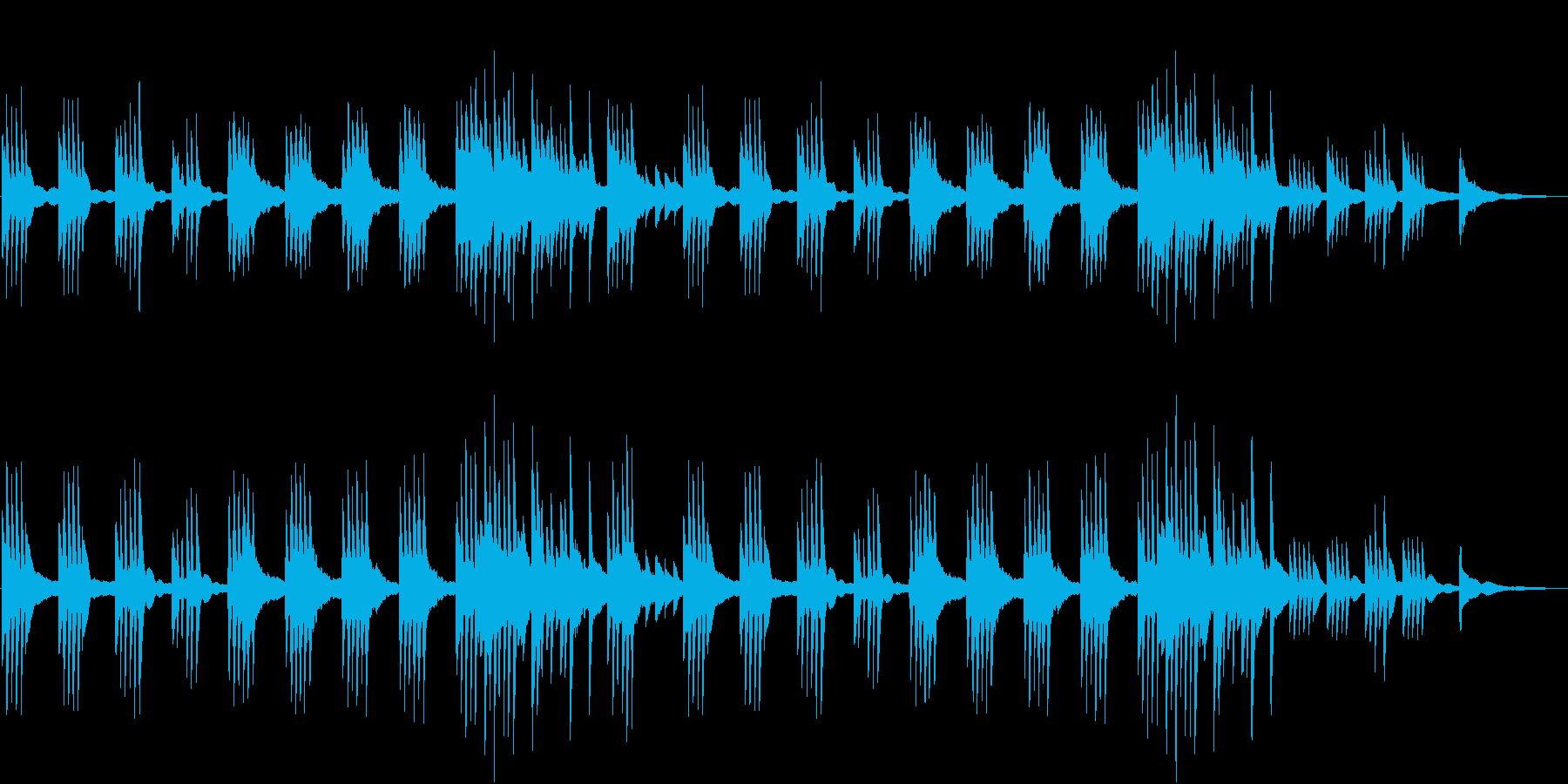 星の煌めきを装飾音で♪幻想ピアノBGMの再生済みの波形