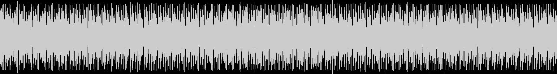 神々しいクリスタル音のヒップホップの未再生の波形