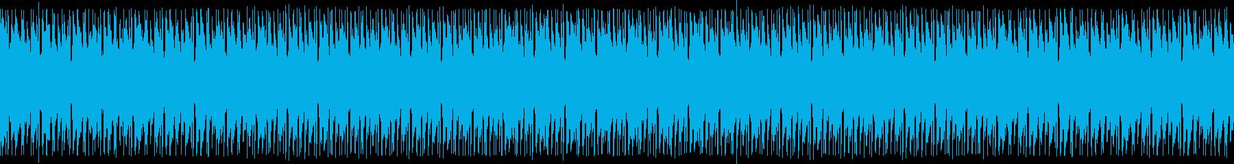 神々しいクリスタル音のヒップホップの再生済みの波形