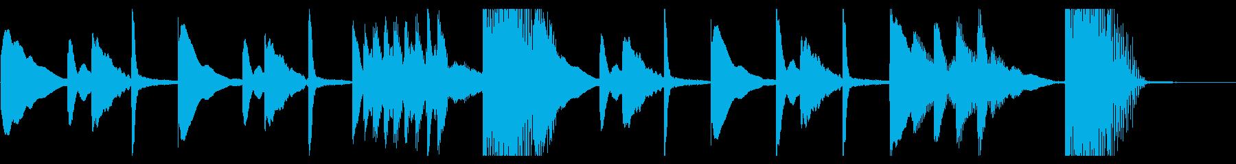 疑い・懐疑なシーンのシンプルなジングルの再生済みの波形
