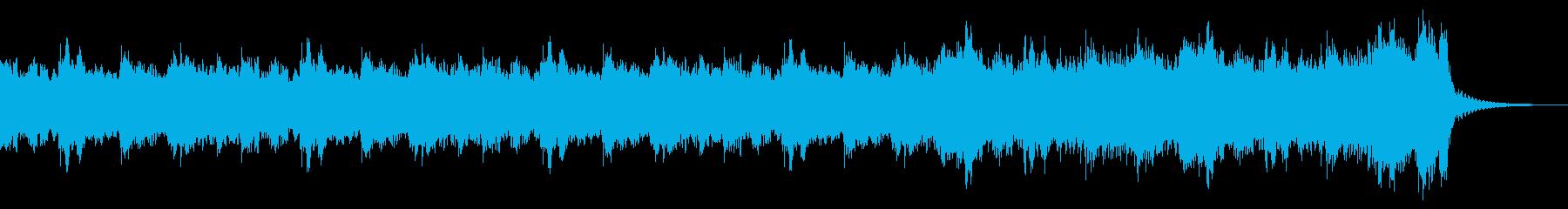 ハリウッド映画風の壮大なBGMの再生済みの波形