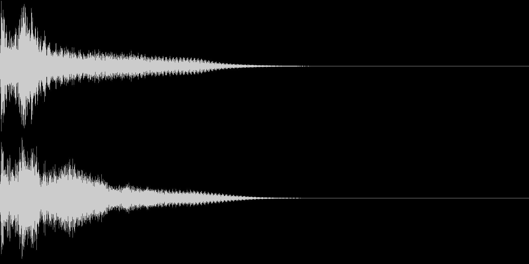 ロボット 合体 ガシーン キュイン 28の未再生の波形