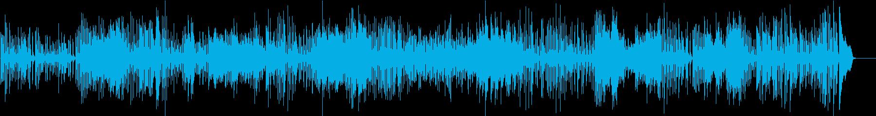 ヴィヴァルディ 協奏曲 イ短調 第3楽章の再生済みの波形