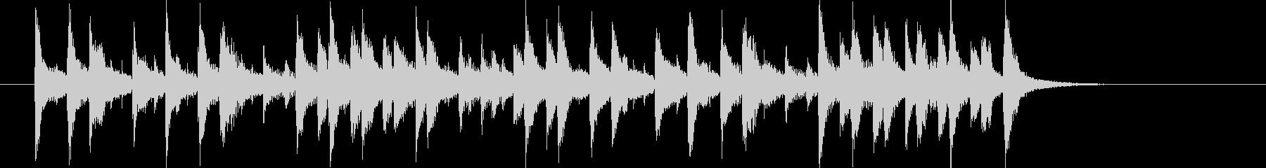 三味線を使ったコミカルなBGMの未再生の波形
