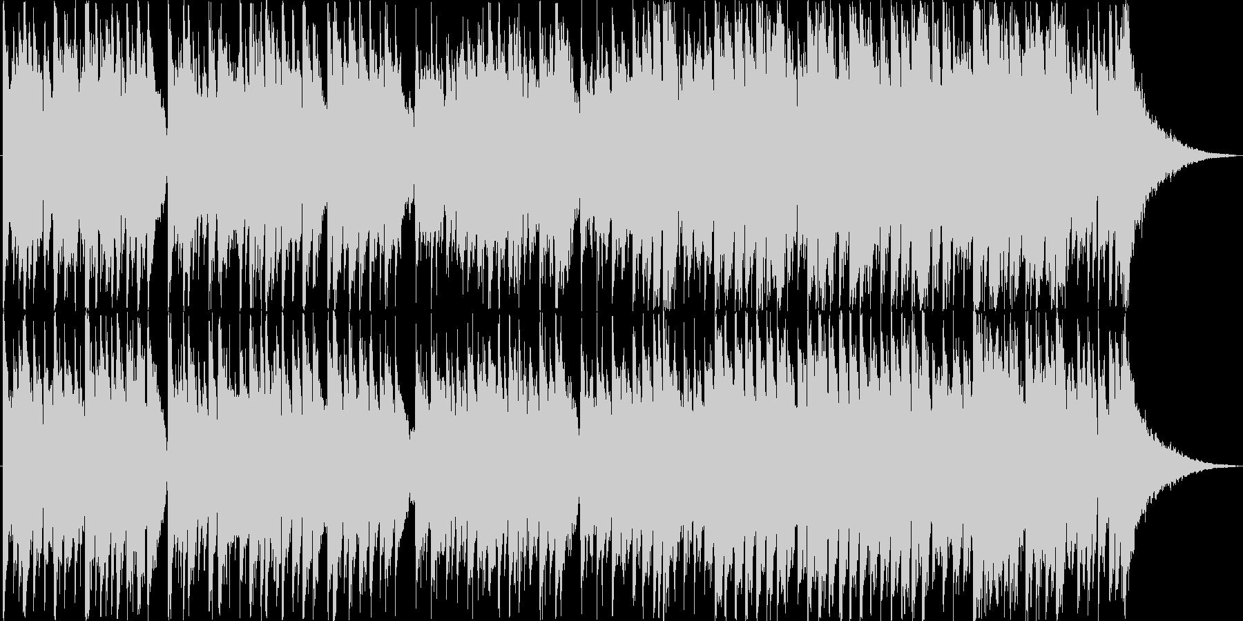 シンプルなアコギソロの未再生の波形
