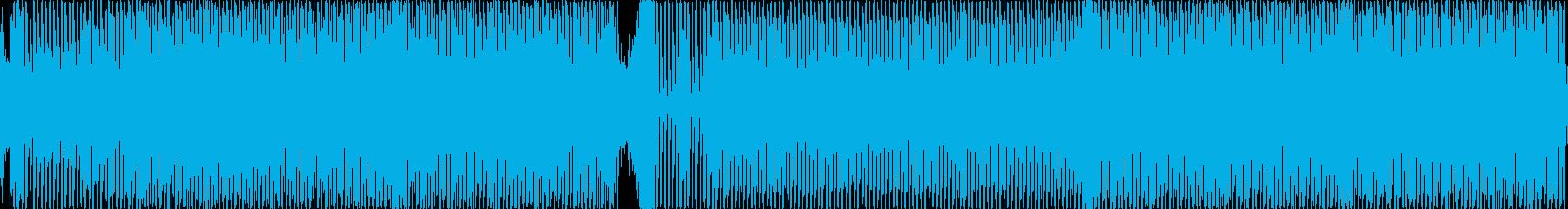 シンセソロ。スピード、高速実行。ロ...の再生済みの波形