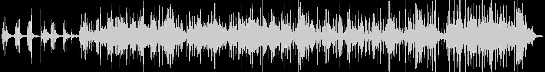 穏やかなピアノトリオバラードの未再生の波形