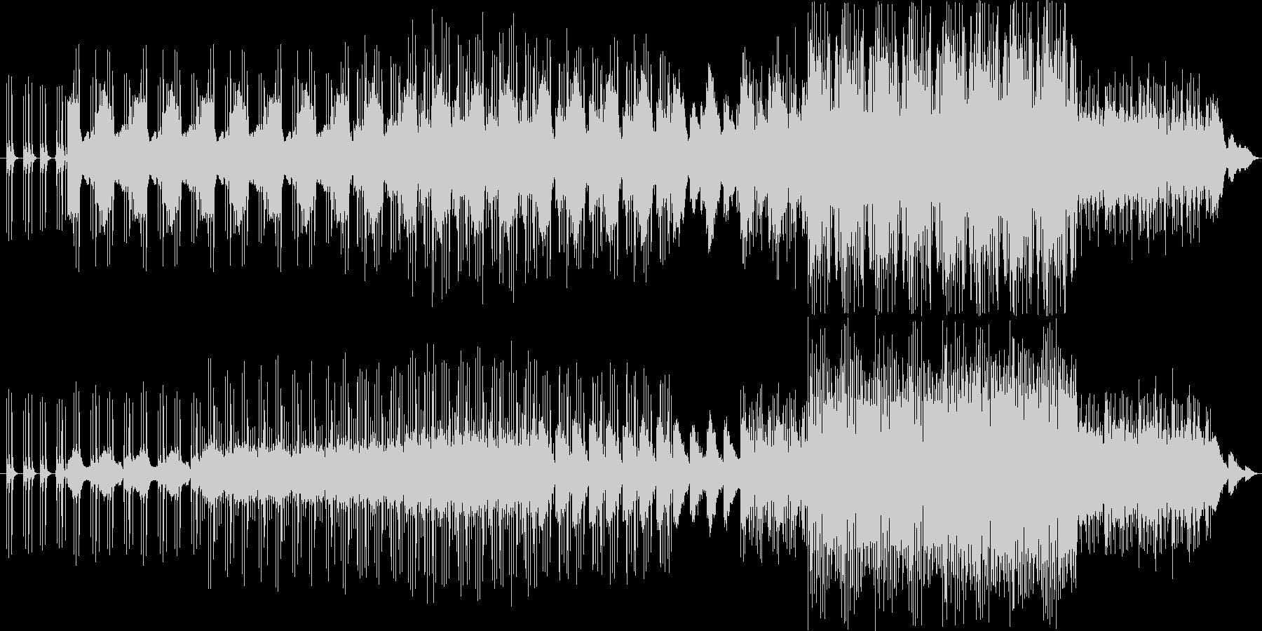 使用例下記にあり 壮大 美しい の未再生の波形