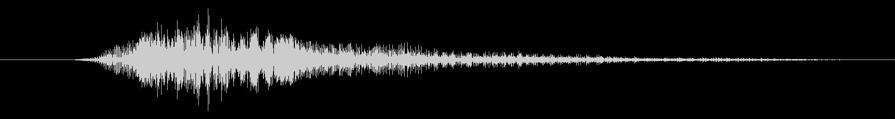 モンスター グロールアタックハイ02の未再生の波形