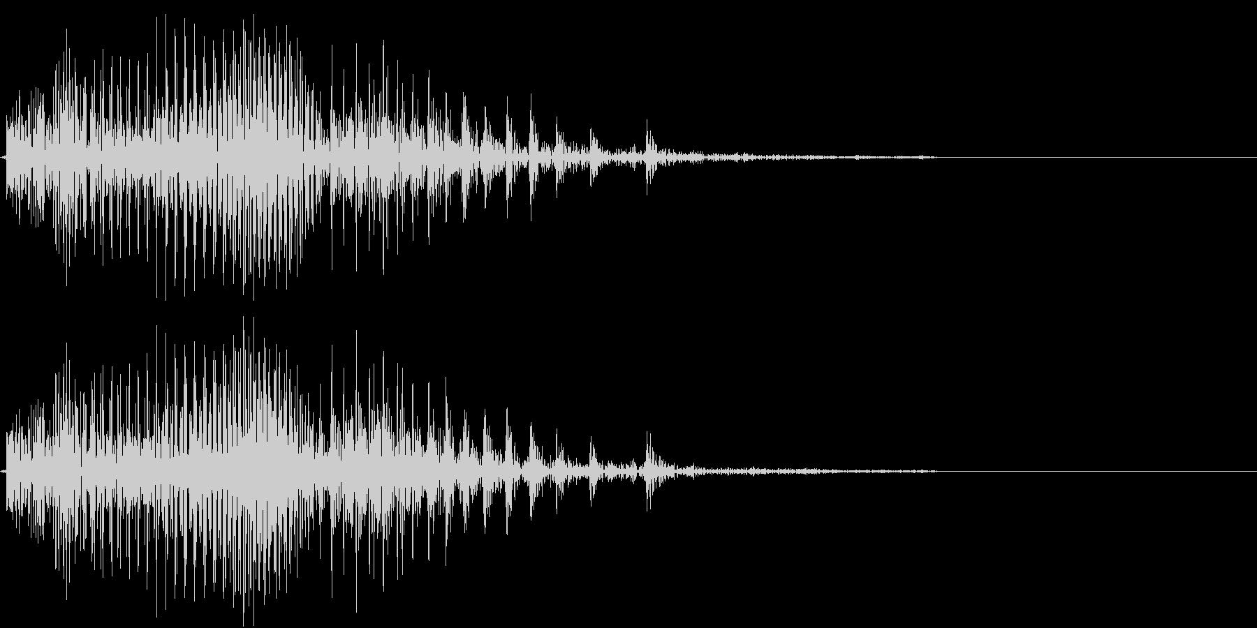 Piko ピコピコハンマー バラエティ の未再生の波形