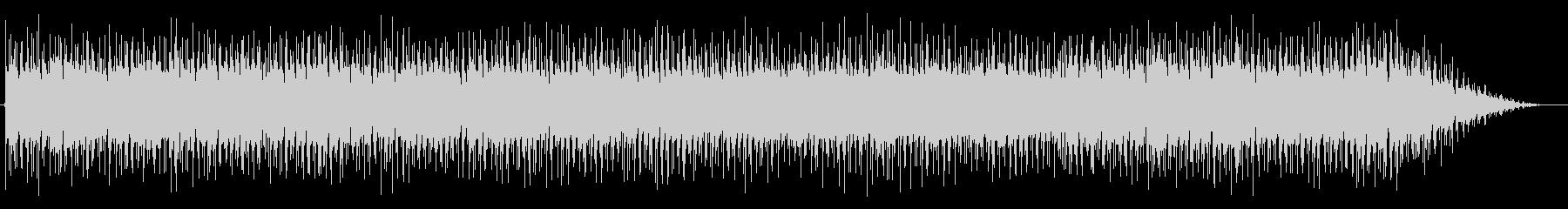 シャッフル系で都会的なBGMの未再生の波形