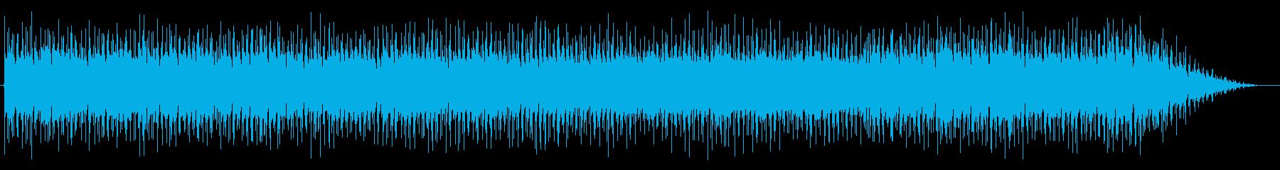 シャッフル系で都会的なBGMの再生済みの波形