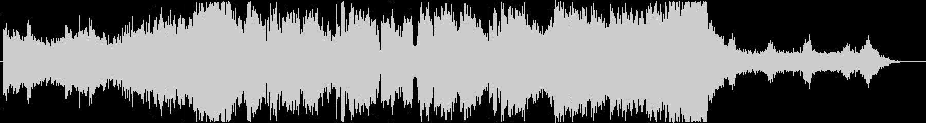 ダブステップよりのEDMの未再生の波形