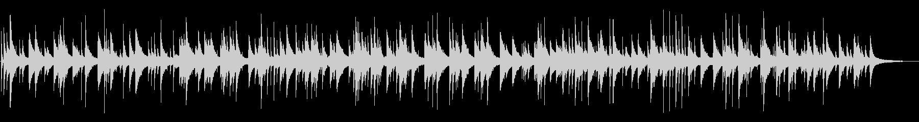 切ないジャズおしゃれピアノYouTubeの未再生の波形