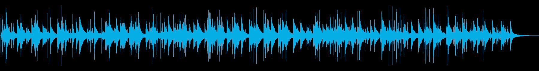 切ないジャズおしゃれピアノYouTubeの再生済みの波形