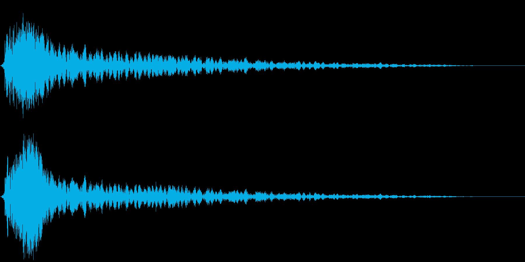【SF映画】ブワーンッッッ・・・の再生済みの波形