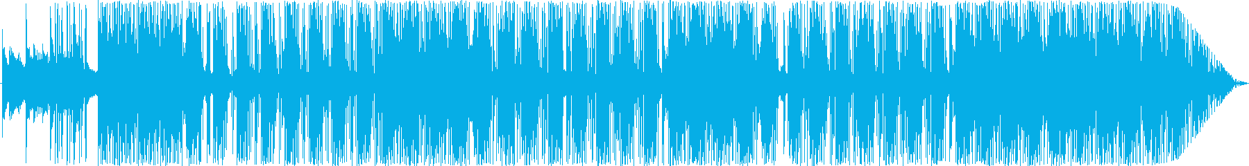 哀愁感のあるピアノ・アコギに強めのビートの再生済みの波形