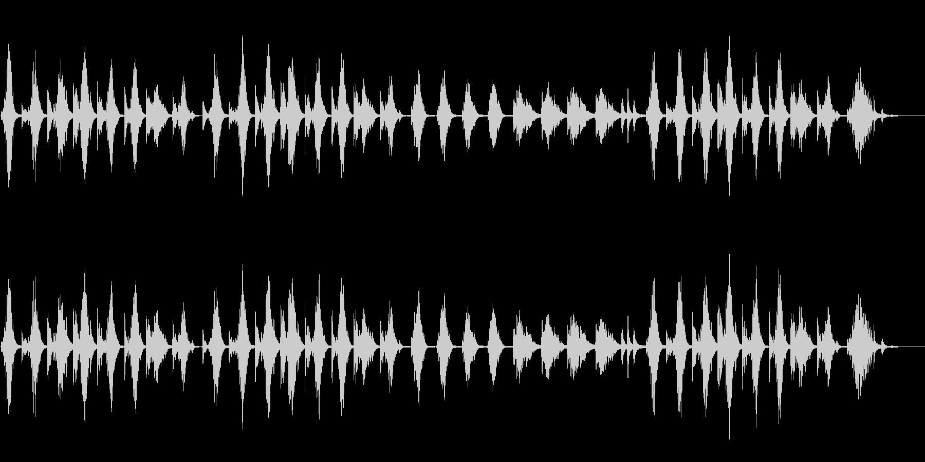 MORNING/モーニングの未再生の波形