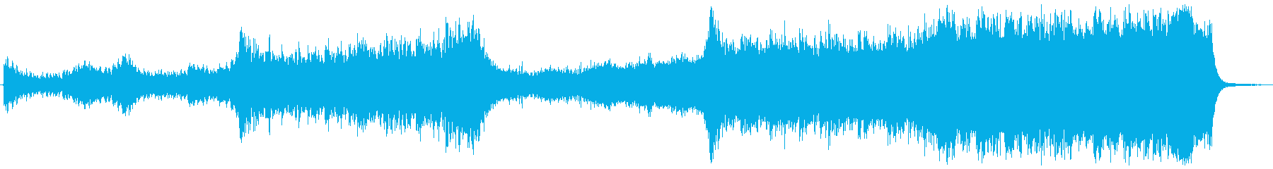 RPG 旅立ち オーケストラ 合唱無版の再生済みの波形