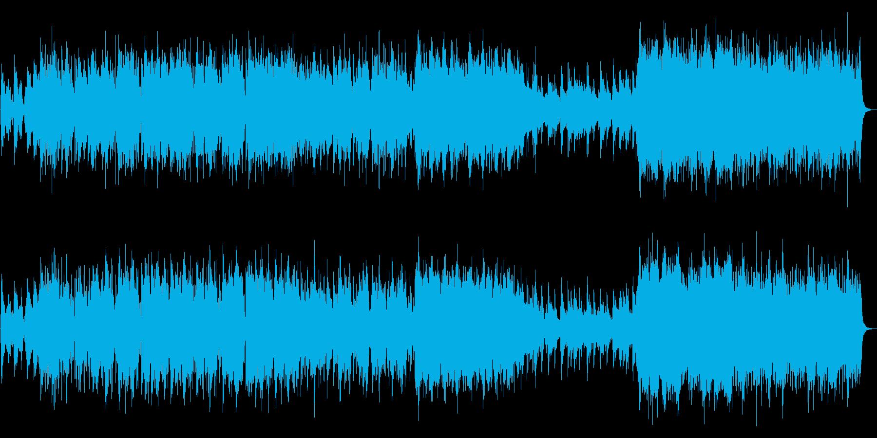 生演奏篠笛 しっとり和風バラードの再生済みの波形
