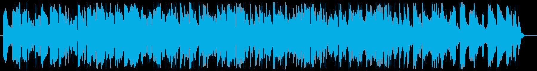 オシャレ/明るく爽やか/ほのぼの/ピアノの再生済みの波形