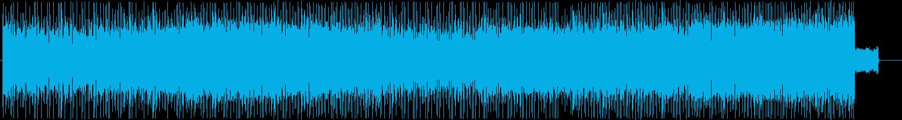 物語の始まりを感じるハイブリッドロックの再生済みの波形