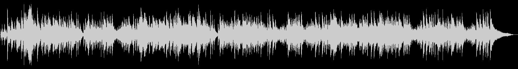 ピアノソロ~明るいファストスウィング♪の未再生の波形