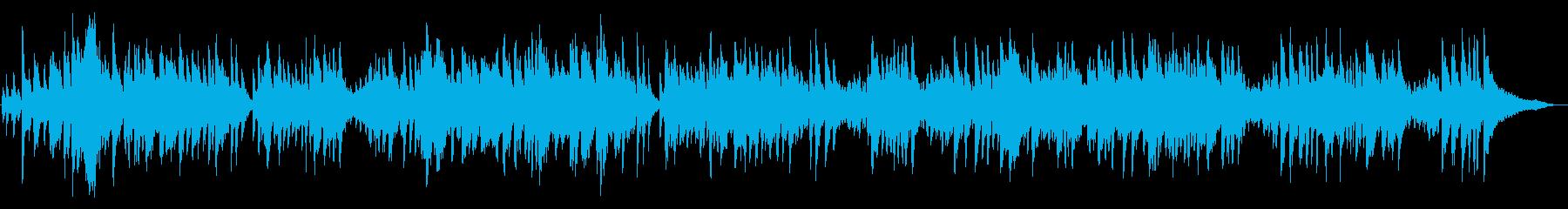 ピアノソロ~明るいファストスウィング♪の再生済みの波形