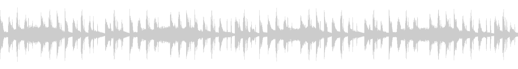 8-bar loop version pattern B's unreproduced waveform