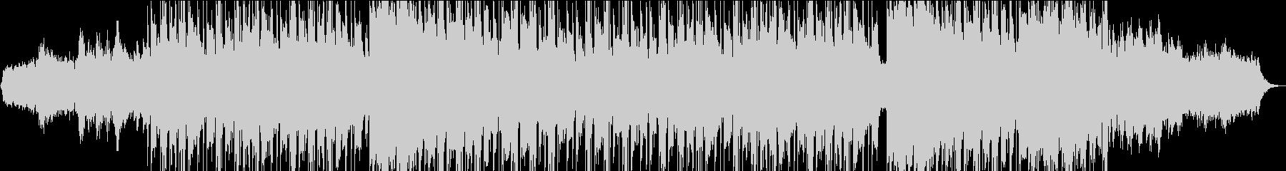 ダークでエッジの効いた最先端テクノの未再生の波形