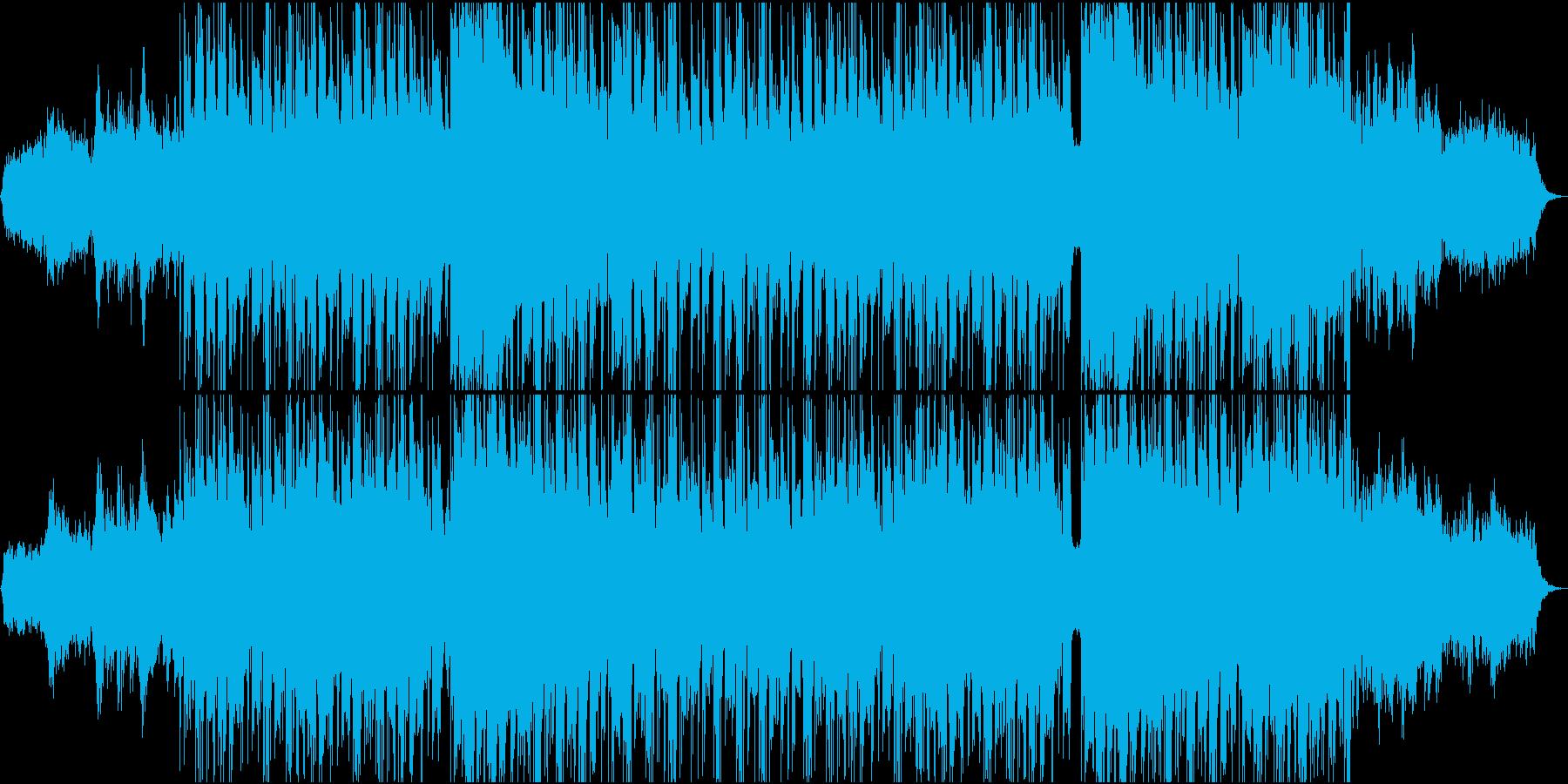 ダークでエッジの効いた最先端テクノの再生済みの波形