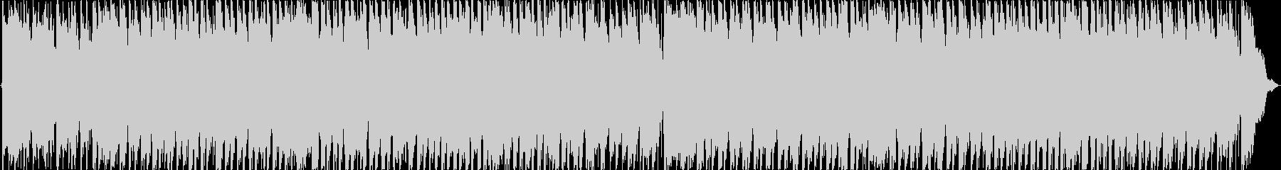 ほのぼのとした可愛いBGMの未再生の波形