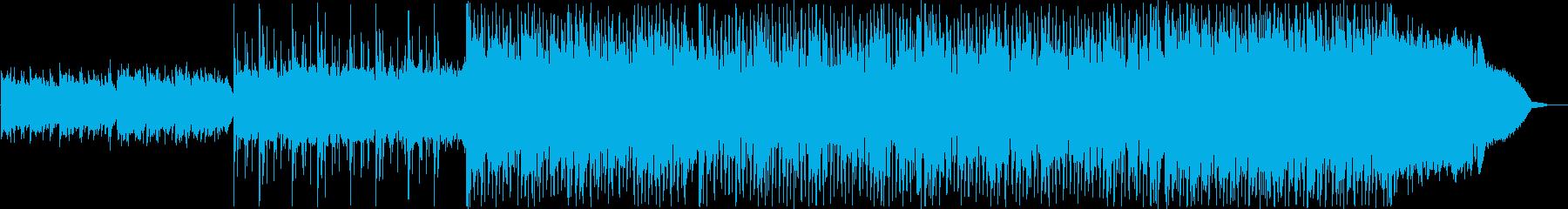 ピアノテクノポップスの再生済みの波形