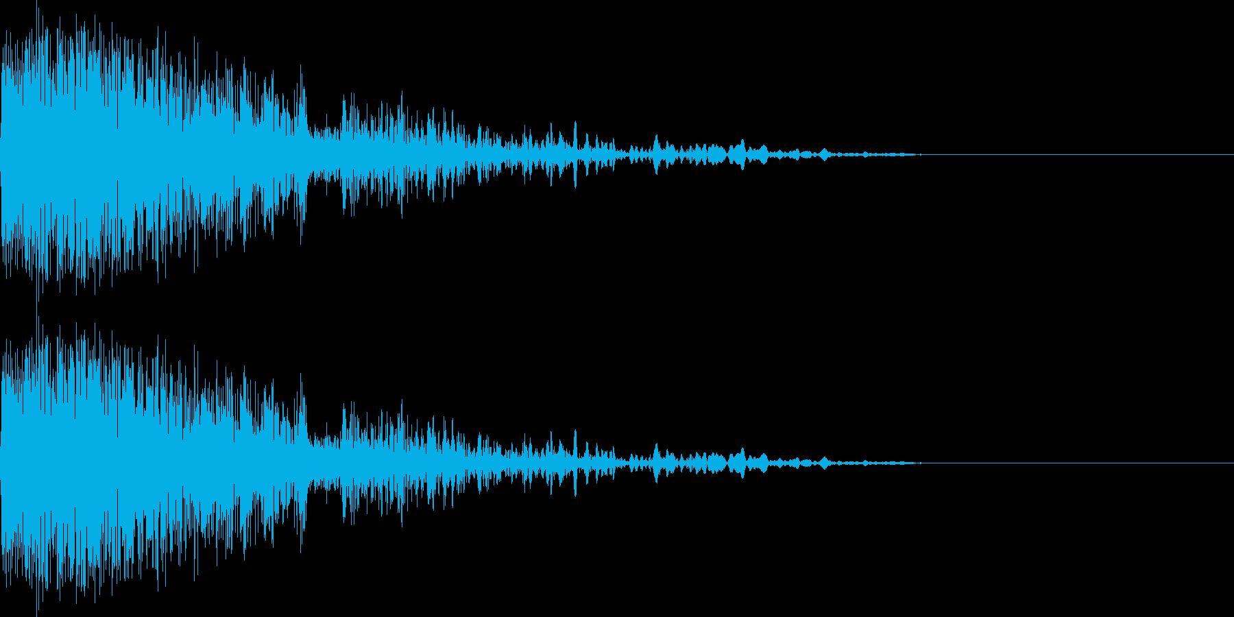 バシ!(ノイズ/工場/インダストリアルの再生済みの波形