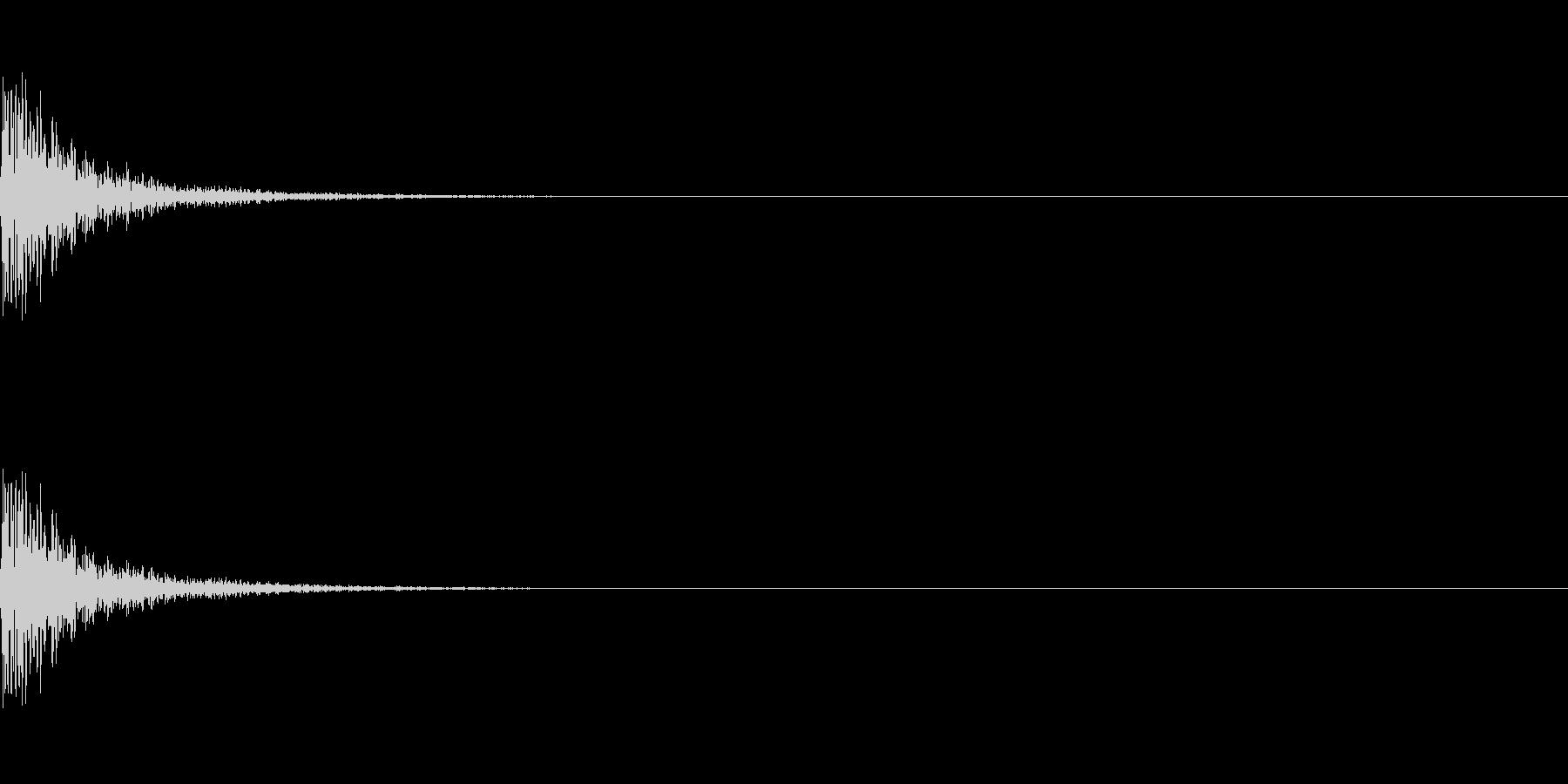 メープル材ドラムキット_スネア04の未再生の波形