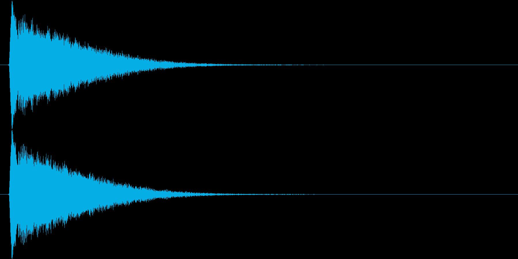キラキラ…(流れ星、下降、かわいい)の再生済みの波形