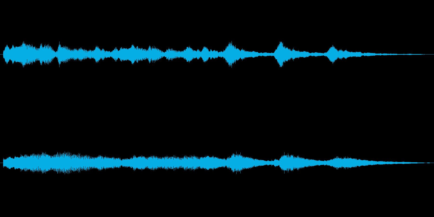オープニングベル4の再生済みの波形