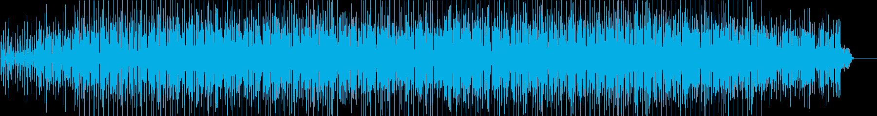 流行  おしゃれ 都会 淡々 躍動 情報の再生済みの波形