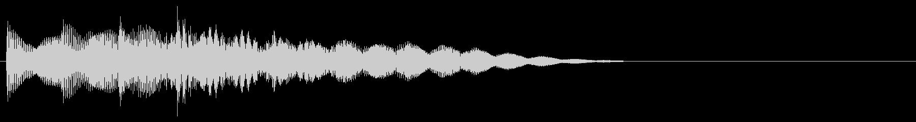 マレット系 ATМ風のフレーズ1(特)の未再生の波形