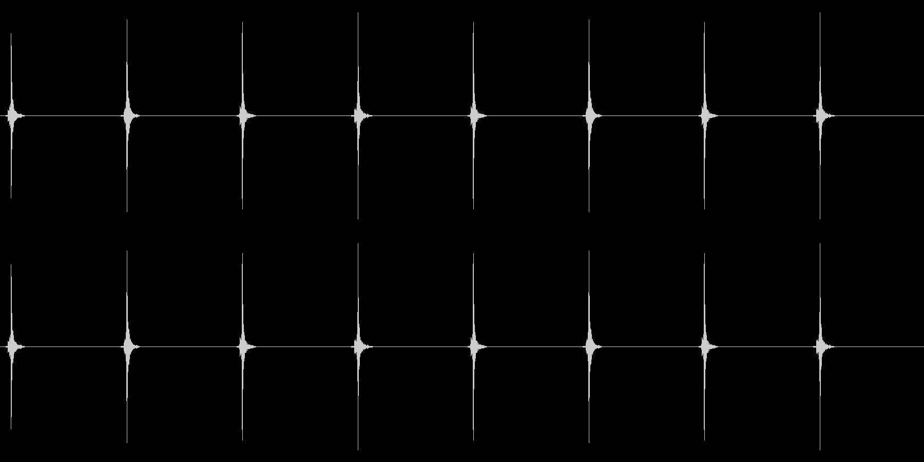 時計 秒針02-2(ループ 2)の未再生の波形