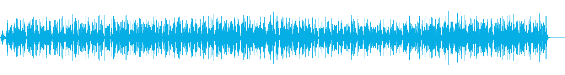 ■ボサノバ風・ギター・ピアノ くつろぎ曲の再生済みの波形