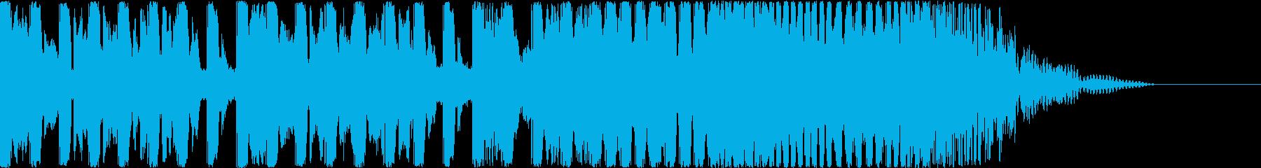 【爽やか】EDM風、夏やOPのBGM等の再生済みの波形
