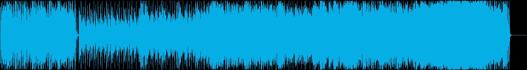 ブラスサウンドが印象的なほのぼのポップスの再生済みの波形